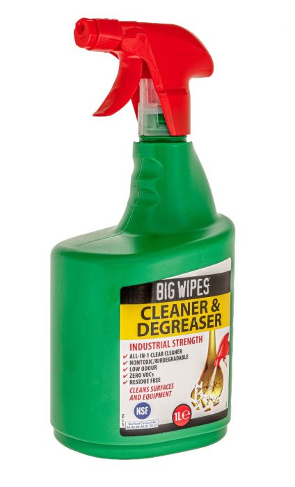 Big Wipes Cleaner & Degreaser 1 Litre Spray