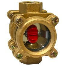 """Fig 1316 Bronze Rotor Type Sight Flow Indicator 1 1/4"""" BSPP"""