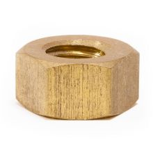 "3/8"" Whitworth Brass Nut"