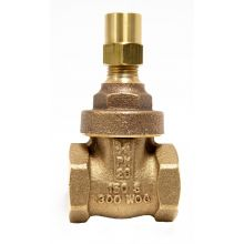 "3/4"" BSP Bronze Gate Valve PN20 c/w Lock Shield"