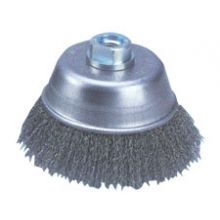 100mm Diameter Crimped Wire Cup Brush