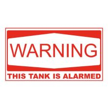 Anti-theft Tank Warning Labels (5 pack)