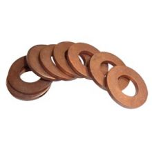 "11/16"" ID x 1 1/8"" OD x 1/8"" Thick Copper Washer"