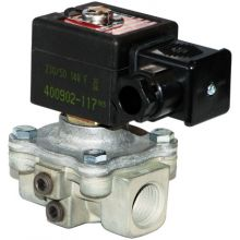 "1/2"" BSP Ignition Gas Solenoid Valve 110v (N/C)"