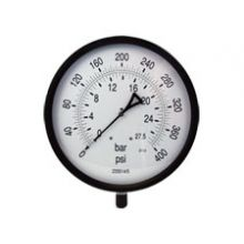 "12"" Dial  Pressure Gauge 0-400psi Bottom Connection 1/2""BSP"