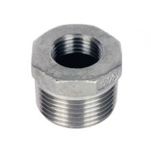 "1/2"" x 3/8"" BSP S/Steel Hexagon Reducing Bush 150psi"