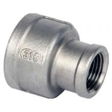 "1/2"" x 3/8"" BSP S/Steel Reducing Socket 150psi"