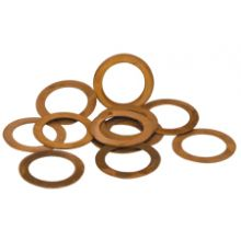 "1/4"" BSP Solid Copper Washer"