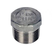 "1/4"" BSP S/Steel Hexagon Head Plug 150 PSI"