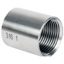 "1/8"" BSP S/Steel Full Socket ODM 150psi"