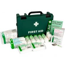HSE Standard 1-10 Person Workplace First Aid Kit