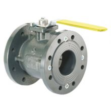 "2 1/2"" Flanged Gas Cast Iron Ball Valve Flanged PN16"