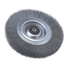200mm Diameter Wire Wheel Brush - 26mm Face