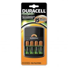 Duracell 15 Minute Charger C/W 4 x AA Batteries