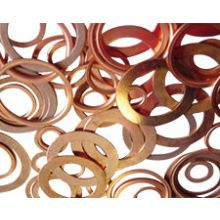 "3/4"" BSP Copper Compression Washer"