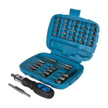 Ratchet Screwdriver Bit & Socket 45 Piece Set