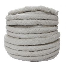 15mm Dia Ceramic Soft Round Rope Lagging 25M Roll