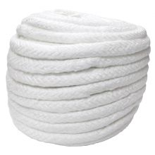 25mm Dia Ceramic Soft Round Rope Lagging 50M Roll