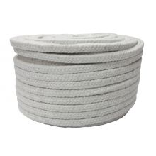 12mm Ceramic Hard Square Rope Lagging 50M Roll