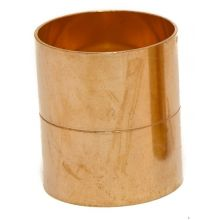 Plain Copper Straight Coupling  for Tundish 54mm