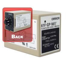 61F-GP N8Y Floatless Level Switch 8 Pin 240v
