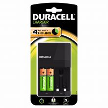 Duracell 4 Hour Charger C/W 2 x AA Batteries