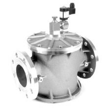 "8"" Flanged Manual Reset Gas Safety Valve 240v"