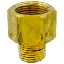 "Adaptor  Brass 1/2"" BSPM to 3/4"" BSPF"