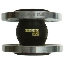 32mm PN16 Flanged Flexible Connector NBR