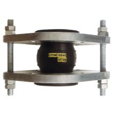 300mm PN16 Tied Flanged Flexible Connector EPDM