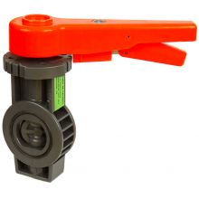 """2 1/2"""" BFY 50 PVC Water Butterfly Valve 10 Bar EPDM Seals"""
