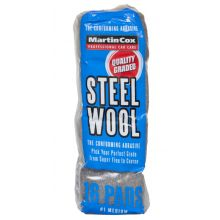 Steel Wool #1 Medium Grade Pack of 16 Pads