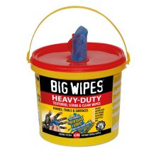 Heavy Duty BIG WIPES Tub of 240 HD