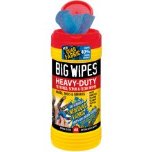 Heavy Duty Big Wipes Red Top Tub of 80
