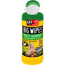 "Multi-Surface ""BIG WIPES"" Tub of 80 HD"