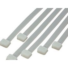 Cable Tie Wraps - Natural  Nylon 2.5 x160mm Long