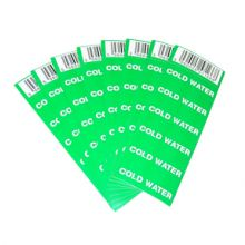 Cold Water Pipe Labels (Pack of 8)