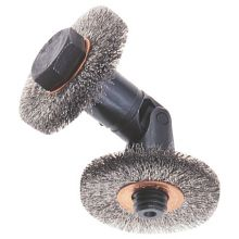 Curved Wheel Brush Assy For Tubes 69.9mm to 73mm ID Tubes