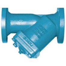 """DN125 (5"""") Cast Iron 'Y' Type Strainer Flanged PN16"""
