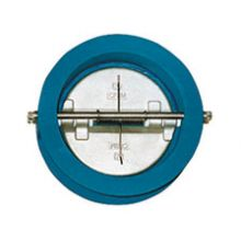 """DN150 (6"""") Cast Iron Dual Plate Wafer Check Valve"""