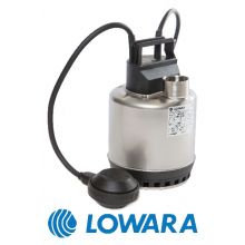 Lowara DOC 3/A Stainless Steel Submersible Pump c/w Float Switch 240v 50hz