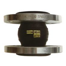 50mm PN10 Flanged Flexible Connector EPDM