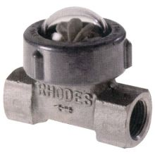 "Fig 400 St/St Sight Flow Indicator Spinner Type 3/4"" BSPT"