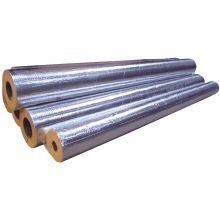 114mm ID - 30mm Thick Foil Faced Pipe Section 1.2M