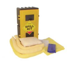 General Purpose Spill Kit - Wall Cabinet - Absorbs 50L
