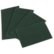 Heavy Duty Dark Green Hand Pad 230 x 150mm (Pack10) 240 Grit