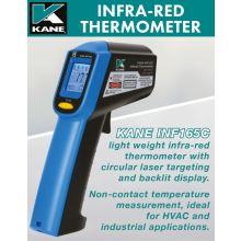 Infra-red Laser Thermometer Range -60 to 550°C