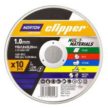 Clipper Multi-Purpose Cutting Disc 115mm - Pack of 10