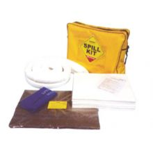 Oil & Fuel Spill Kit - Shoulder Bag - Absorbs 50L