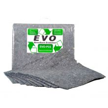 EVO Absorbent Pads - Absorbs 22.5L - Clip-Top Bag Pack of 15